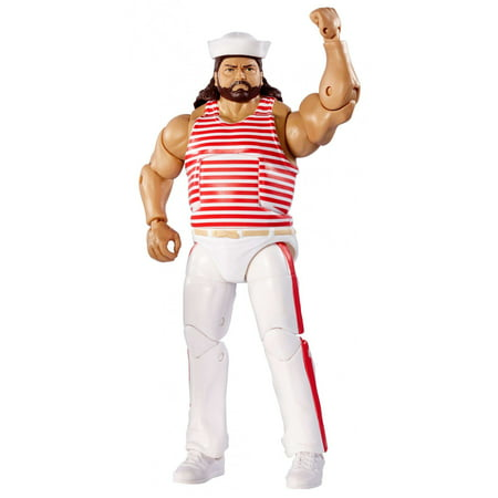 WWE Elite Flashback Tugboat Figure - Wwe Banner