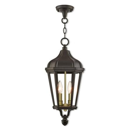 Morgan 2 Light Outdoor Pendant Lantern (Morgan Hanging Lantern)