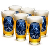 Patriotic 16 oz. Pint Glass 343 You Will Never Be Forgotten (Case of 12) by Erazor Bits