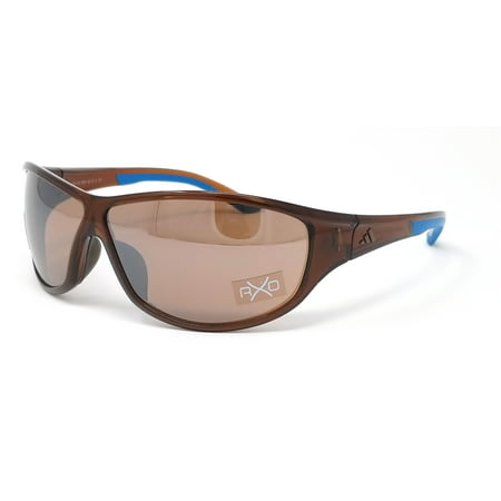 Adidas Sunglasses Daroga A416 6054 Transparent Brown Blue/Contrast Silver Brown