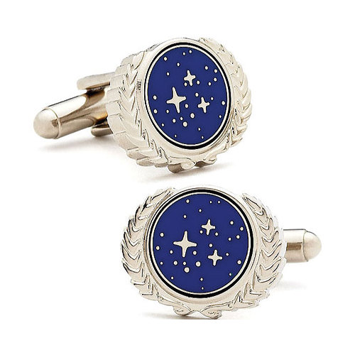 Men's Cufflinks Inc Star Trek UFP