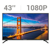 """PrimeCables 43"""" 1080P FHD TV with IPS LCD Panel Television"""