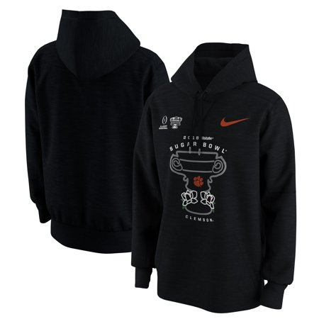 Clemson Tigers Nike College Football Playoff 2018 Sugar Bowl Bound Illustration Hoodie - Black ()