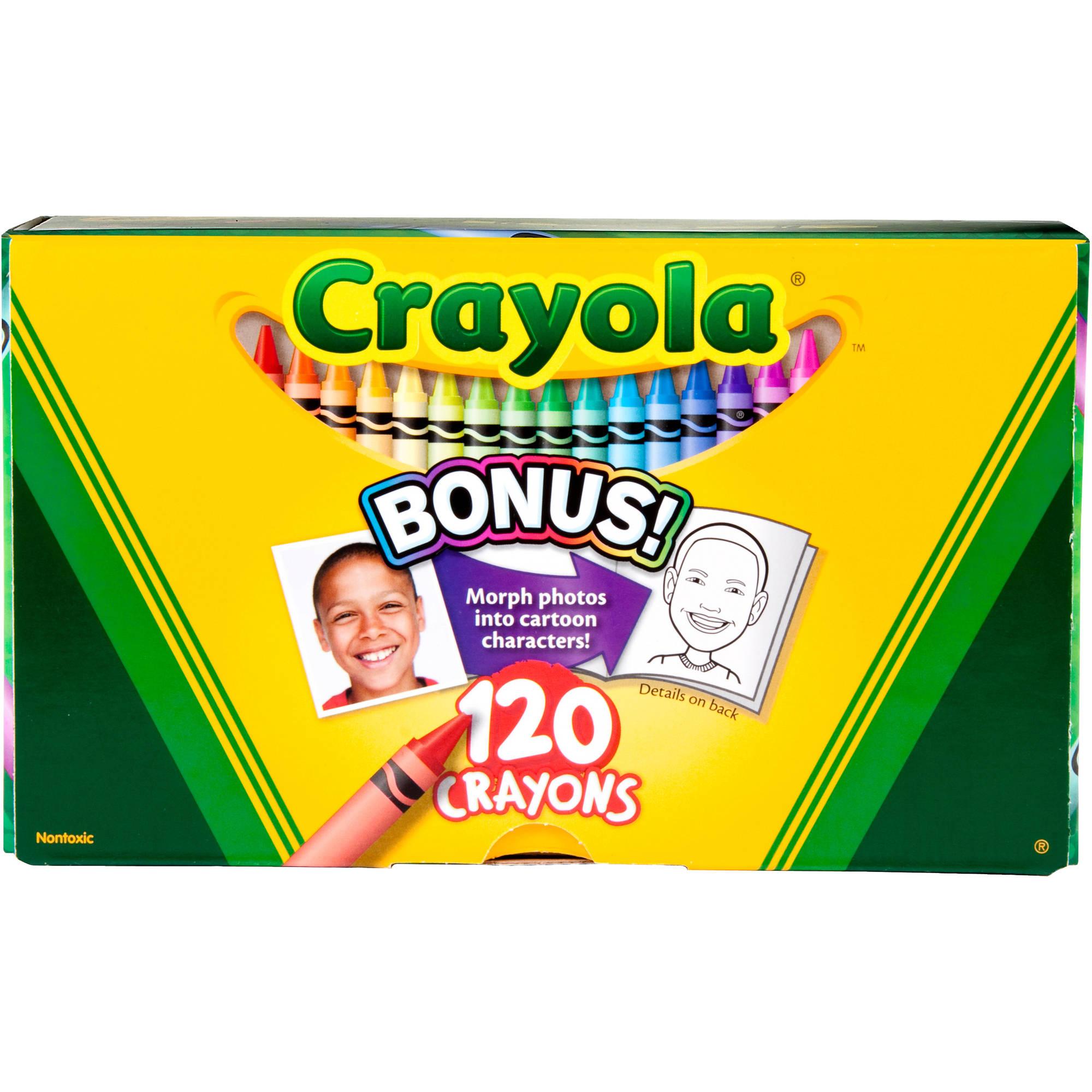 Crayola Original Crayons, 120ct