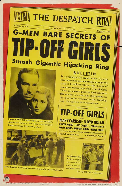 Tip-Off Girls POSTER Movie (27x40) by