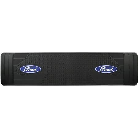 Envoy Custom Floor Mats Rear - Ford Logo Floor Black Rear Runner Mat