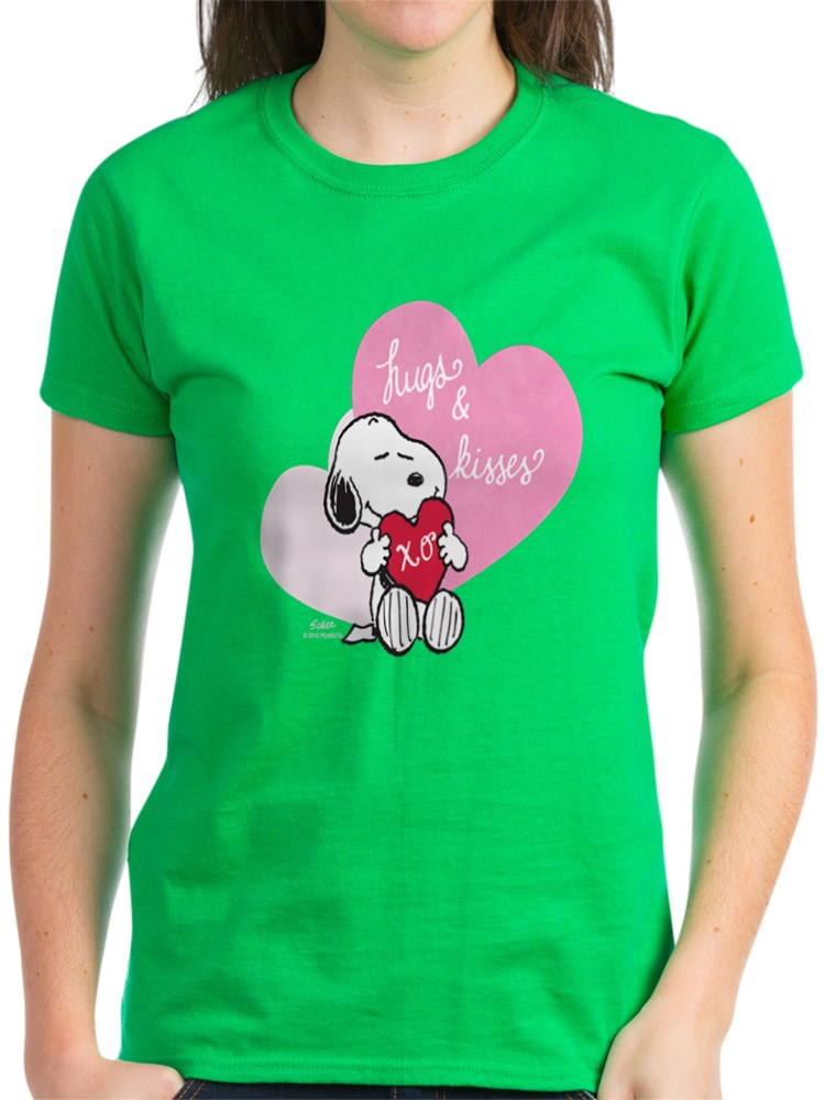 Hugs and Kisses Womens PJs CafePress Snoopy