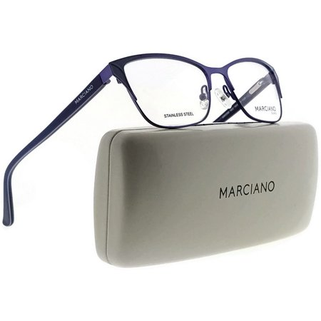 Guess By Marciano GM0289-082-53 Cat Eye Women Violet Frame Clear Lens Eyeglasses (Guess Eye Glass Frames)