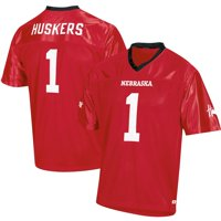 Men's Russell Athletic Scarlet Nebraska Cornhuskers Replica Football Jersey