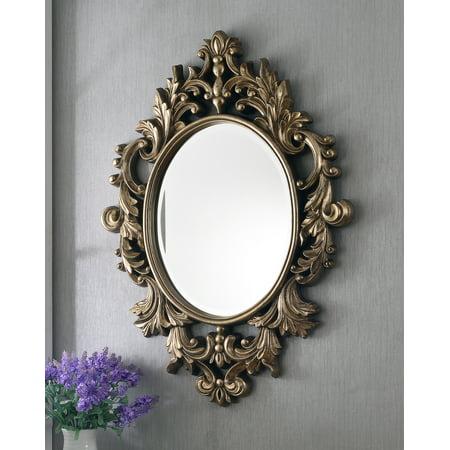 Kenroy Home Louis Wall Mirror, Silver Leaf