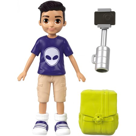 Polly Pocket Active Pose Selfie Stick Photo Journalistic Nicolas Doll