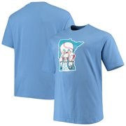 Minnesota Twins Big & Tall Cooperstown Collection Large Logo T-Shirt - Light Blue