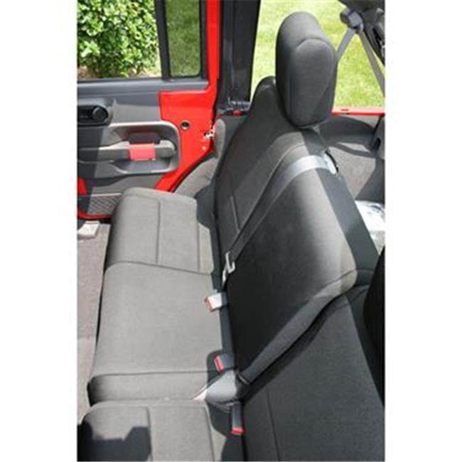 Rugged Ridge 1326501 Seat Cover Bench Jeep Wrangler, Neoprene, Black