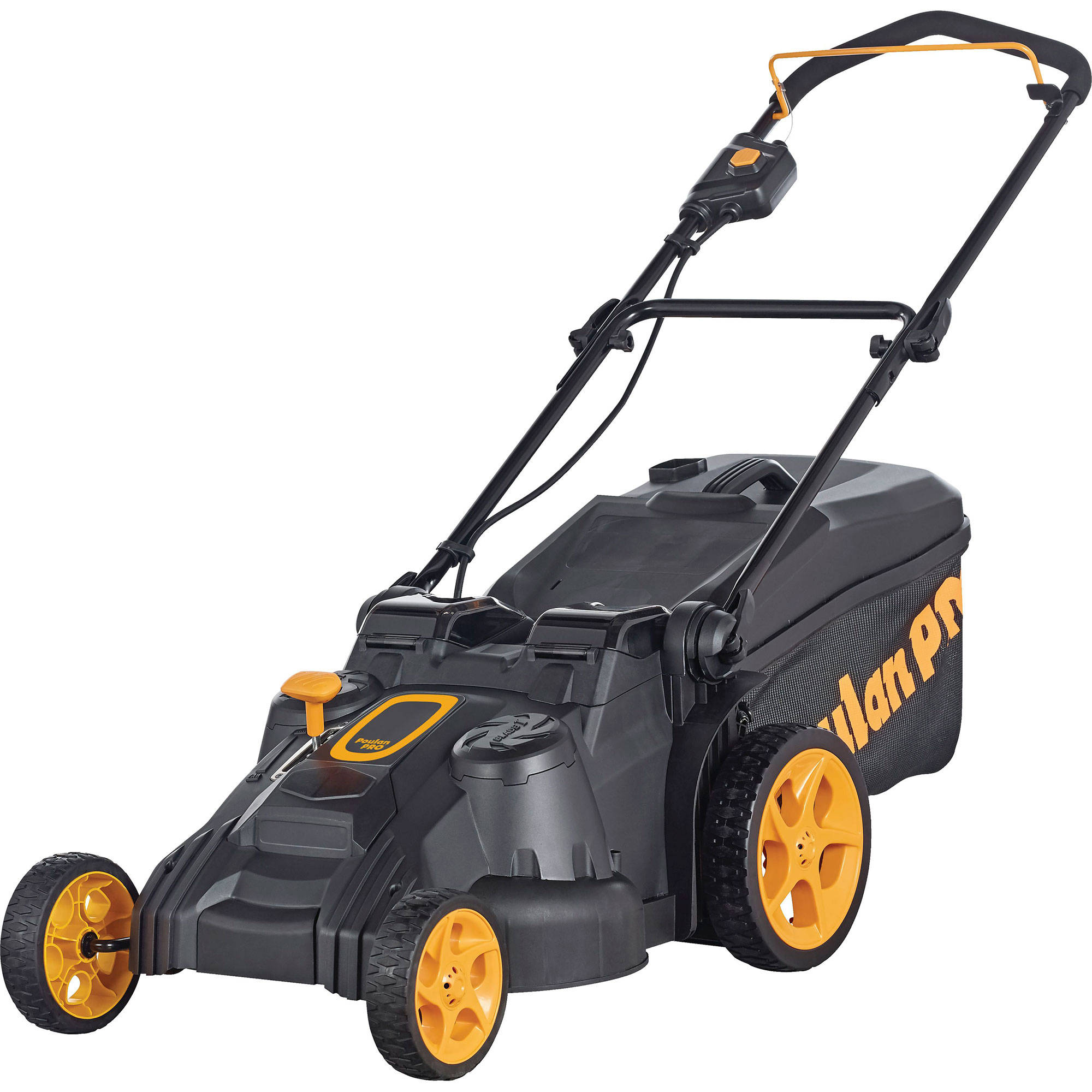 Poulan Pro 40-Volt Lithium-Ion Rechargeable Battery Lawn Mower by Husqvarna
