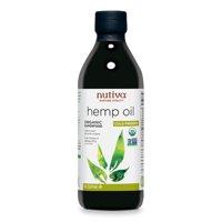 Nutiva hemp oil, organic, cold-pressed, 16 fl oz