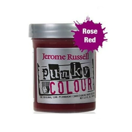 Jerome Russell Punky Hair Colour, Rose Red, 3.5 Oz](Trendy Punky)