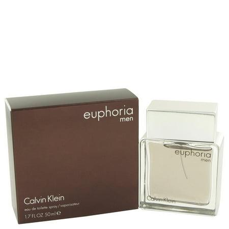Calvin Klein Euphoria Eau De Toilette Spray for Men 1.7 (Calvin Klein Euphoria For Men Eau De Toilette)