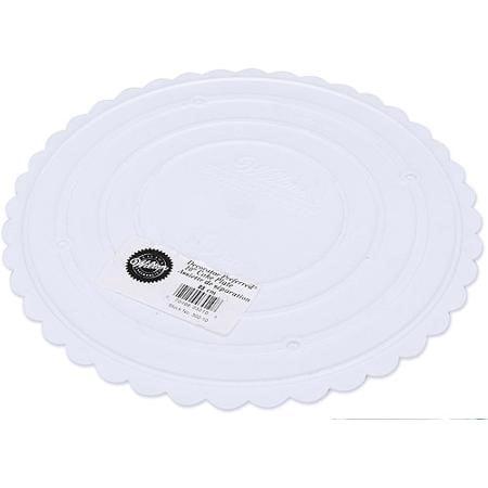 """Wilton Separator Decorator Preferred Scalloped Plate, 10"""", 1 Ct"""