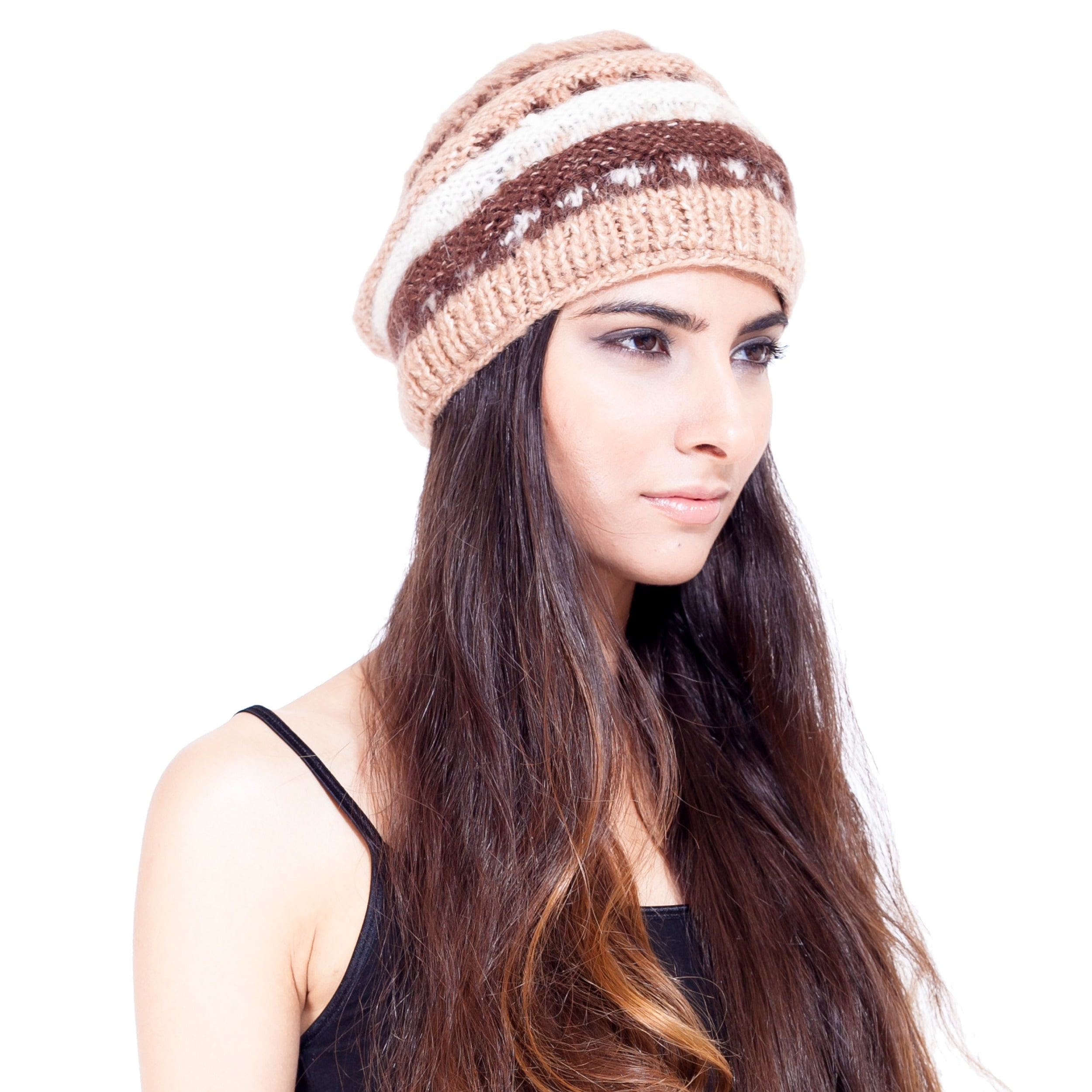 Lakhays Layer Mohair Wool Handmade Winter Hat (Nepal)