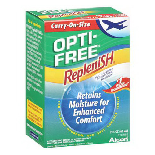 Alcon Opti-Free Replenish Multi-Purpose Disinfecting Solution - 2 Oz
