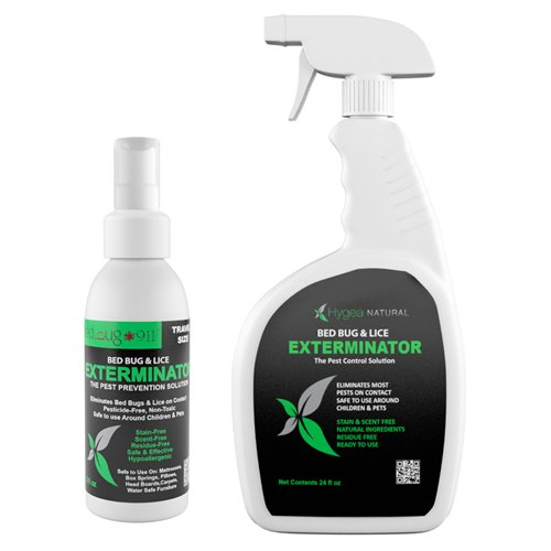 bed bug 911 exterminator spray and travel size spray combo pack