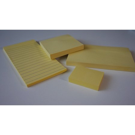 LAMINATED POSTER Postit Office Accessories Adhesive Note Sticky Notes Poster Print 24 x 36