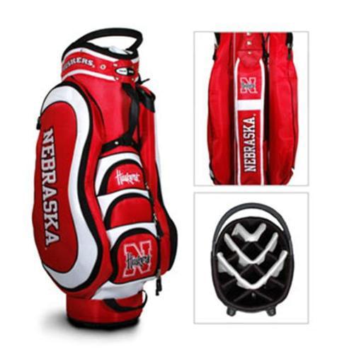 Team Golf 22435 Nebraska Cornhuskers Medalist Cart Bag