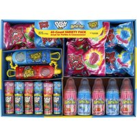 Ring Pop Assorted Candy Lollipop Variety Pack, 40 Count