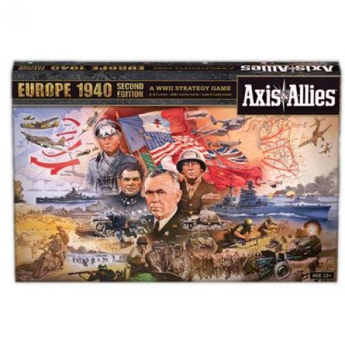 Axis and Allies Europe 1940 Second Edition Board Game by Wizards of the Coast