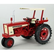 Farmall 504 Gas Narrow Front Tractor With Canopy 1/16 Diecast Model by Speccast