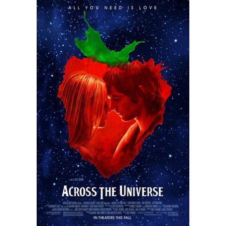 Across The Universe Poster 27X40 Jim Sturgess Evan Rachel Wood Joe Anderson  Approx  Size  27 X 40 Inches   69Cm X 102Cm By Pop Culture Graphics Usa