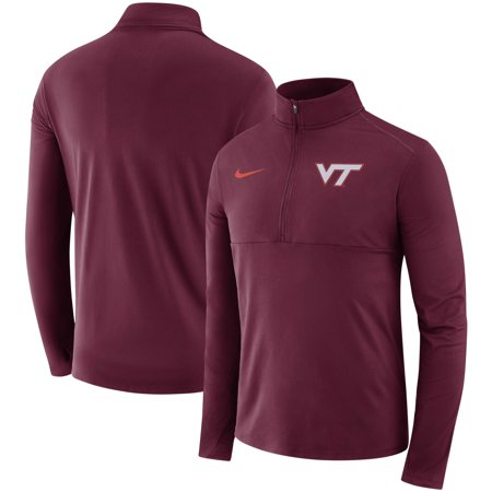 Virginia Tech Hokies Nike Core Half-Zip Pullover Jacket - Maroon - 2XL (Nike Tech Core)