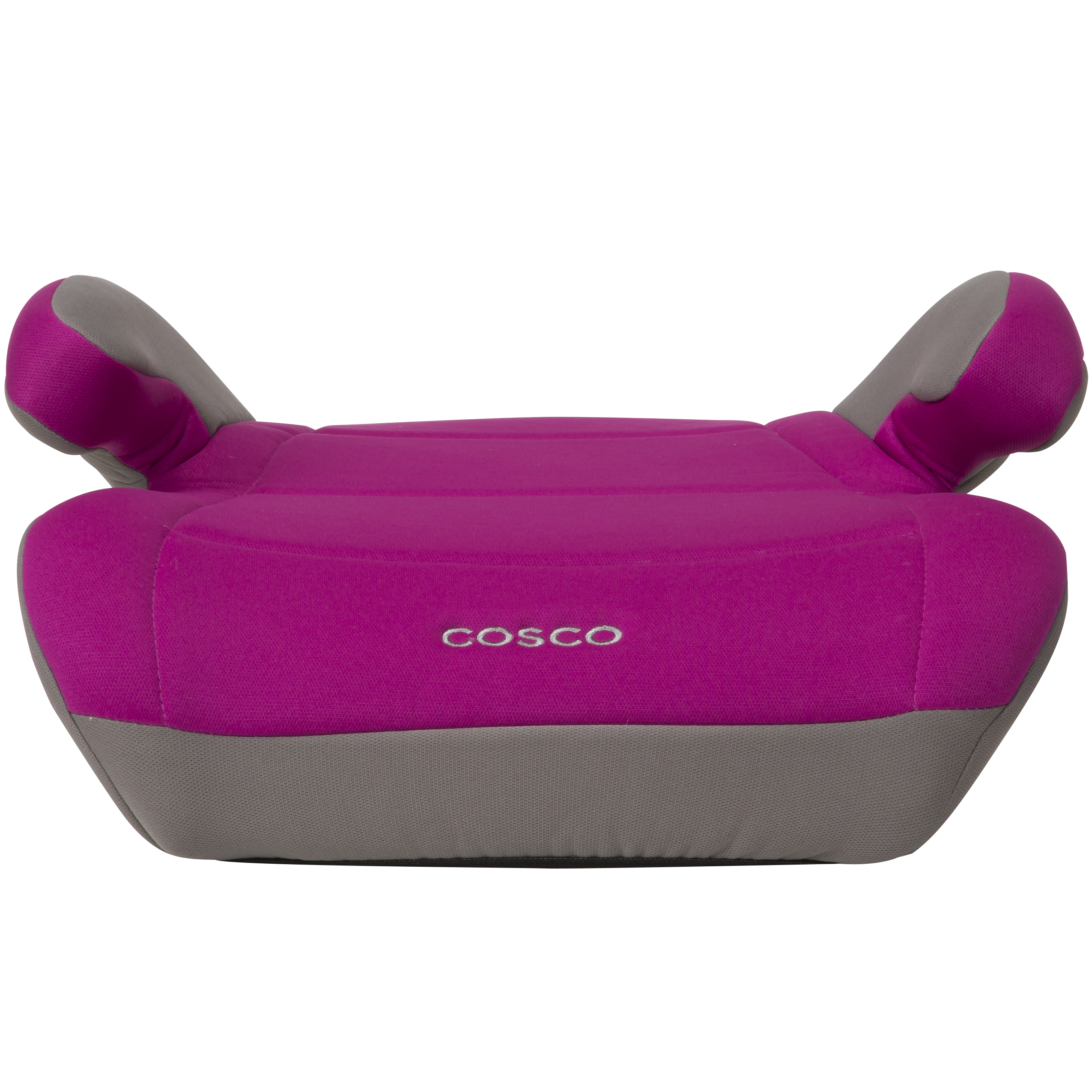 Cosco Topside Booster Car Seat - Easy to Move, Lightweight Design, Magenta