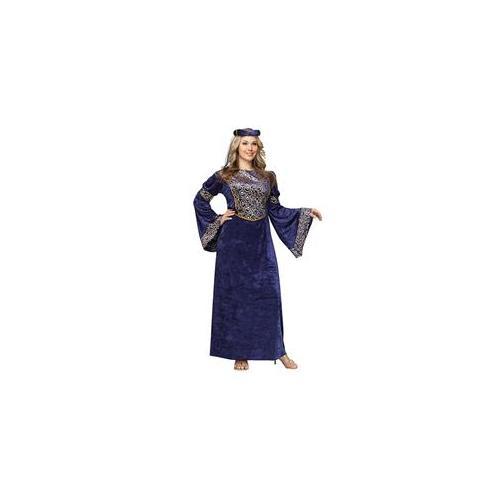 Brand New Royal Renaissance Beauty Maiden Adult Costume