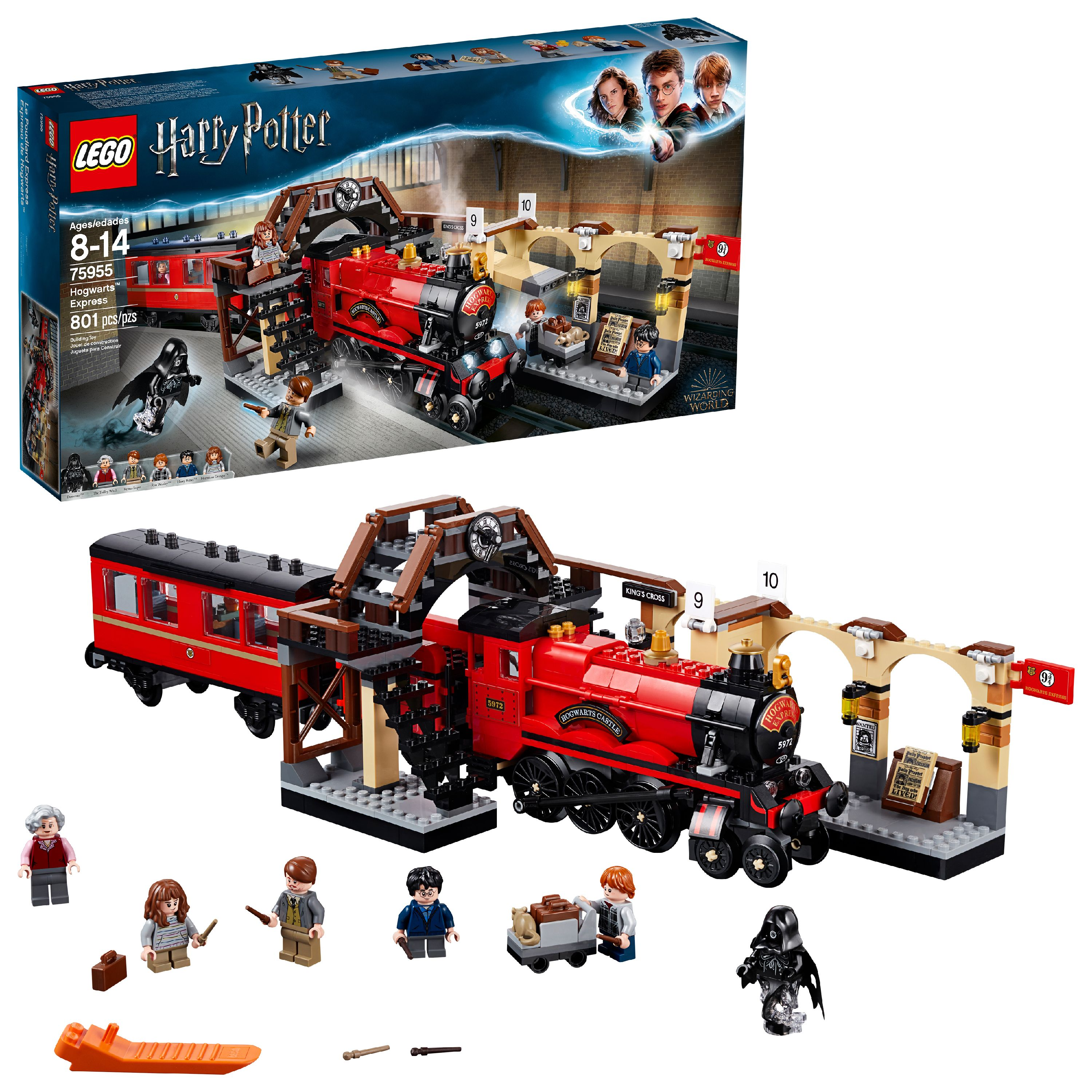 LEGO Harry Potter TM Hogwarts Express 75955 Building Set (801 Pieces)