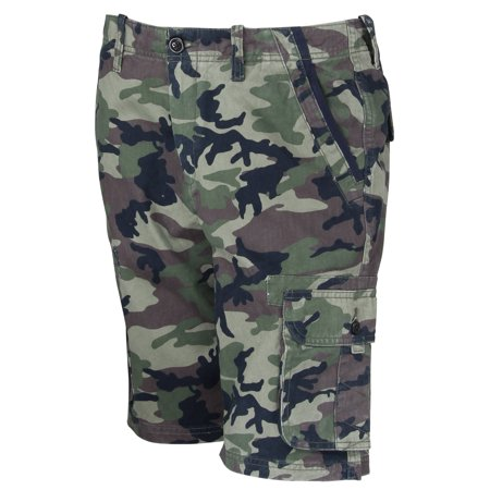 Quiksilver Mens Everyday Deluxe Cargo Shorts - Camo