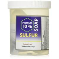 Braunfels Labs 10% Sulfur Soap in Suds Jar (3.5 oz)