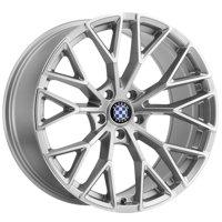 "19"" Inch Beyern Antler 19x8.5 5x120 +15mm Silver/Mirror Wheel Rim"