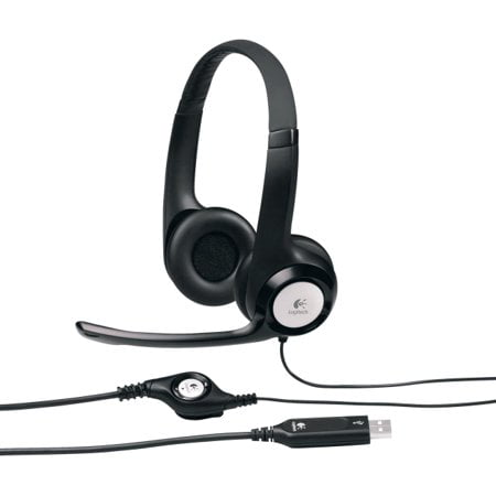 Logitech USB Headset H390 with Noise Cancelling Mic Non retail