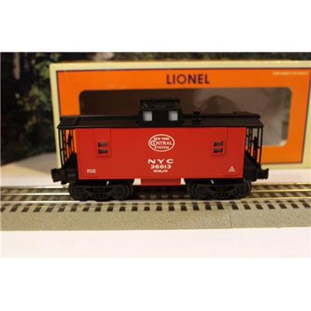 LIONEL- 36613- NEW YORK CENTRAL CABOOSE - (New York Central Caboose)