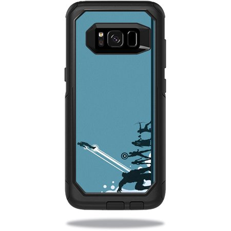 Skin For OtterBox Commuter Samsung Galaxy S8 Case – Super Squad | MightySkins Protective, Durable, and Unique Vinyl Decal wrap cover | Easy To Apply, Remove, and Change Styles | Made in the