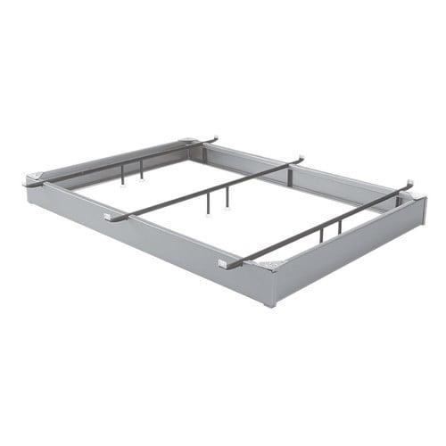 Aluminum Hook Finish Bed Frame King Walmart Com