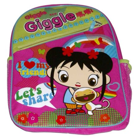 Cranium Giggle Gear - Kai-lan Giggle Girl Backpack School Day Travel Back Pack