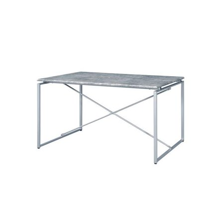 Q-Max UB72905 30 in. Tall Contemporary Style Dining Table, Grey - image 1 of 1