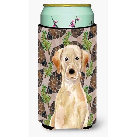 Yellow Labrador Pine Cones Tall Boy Beverage Insulator Hugger BB9576TBC](Buy Pine Cones)