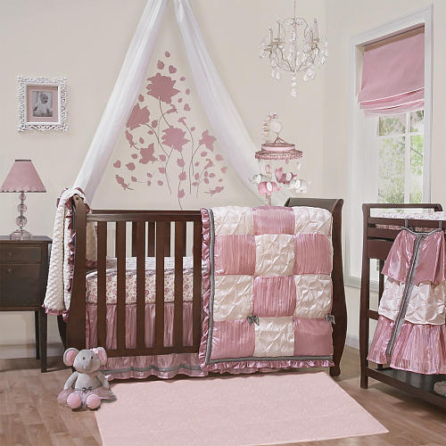 Peanut Shell Bella 6 Piece Crib Bedding Set