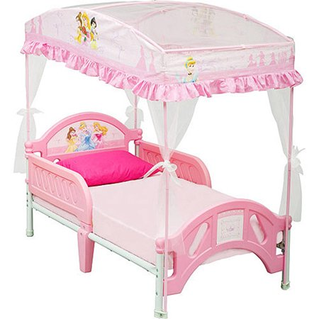 disney princess toddler bed with canopy. Black Bedroom Furniture Sets. Home Design Ideas