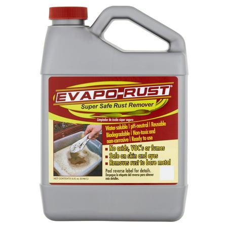 Evapo-Rust®, The Original Super Safe Rust Remover, Water-based, Non-Toxic, Biodegradable, 32 oz