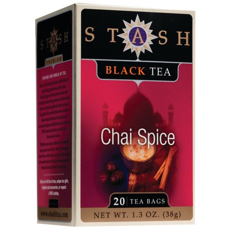 (3 Boxes) Stash Tea Chai Spice Black Tea, 20 Ct, 1.3 Oz ()