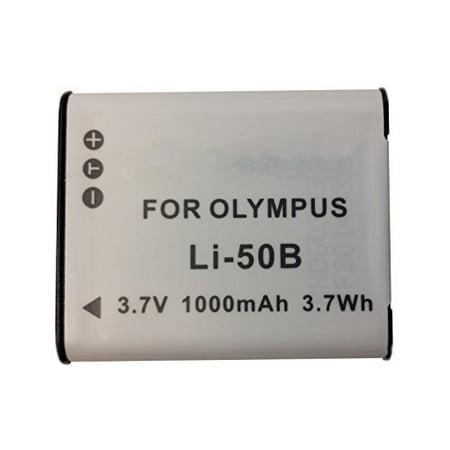 Olympus Stylus Tough TG-870 repl. Digital Camera Battery - Li-ion 3.7V 1000mAh